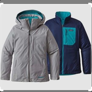 Women's Patagonia 3-in-1 Snowbelle Jacket Size M